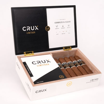 Two New Crux Limitada 2020 Vitolas Shipping to Retailers