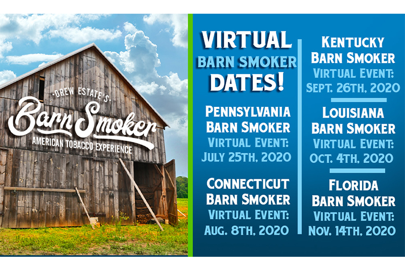 Drew Estate Cancels 2020 Barn Smoker Events due to COVID-19