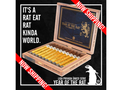 "Drew Estate Announces Liga Privada Unico Serie ""Year of the Rat"" Exclusive"