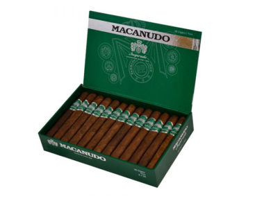 Macanudo Inspirado Green Shipping in Summer 2020