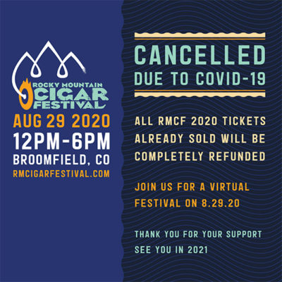 Rocky Mountain Cigar Festival 2020 Cancelled Due to COVID-19