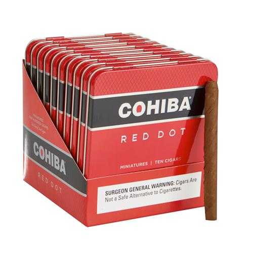 Cigar Tins | Cohiba Red Dot