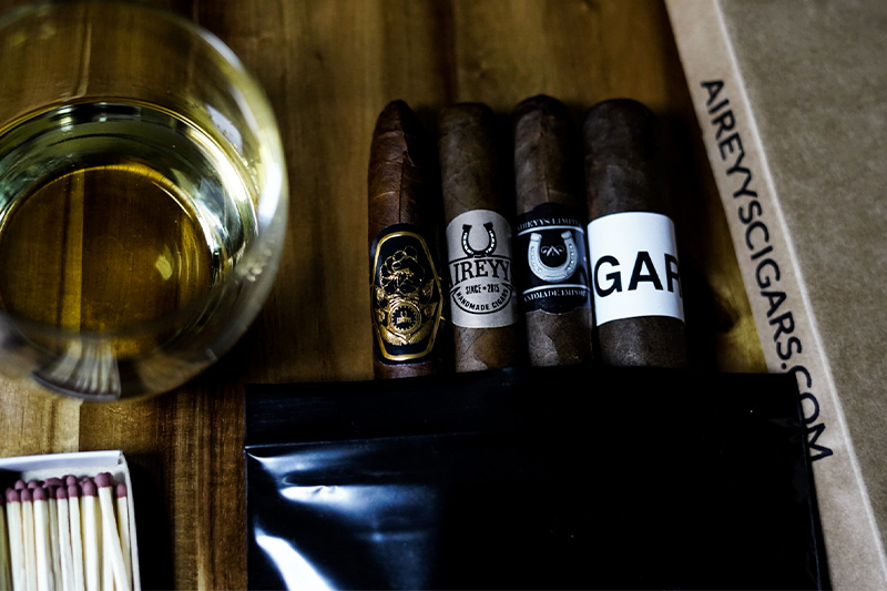 Aireyys Cigars Launches Black-Owned Monthly Cigar Club