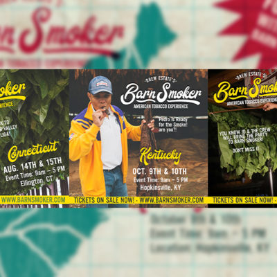 Drew Estate Announces 2021 Barn Smoker Event Dates