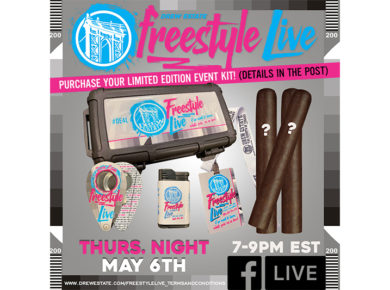 Drew Estate Announce Freestyle Live Event Pack with Mysterious Twist