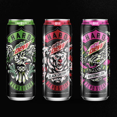 Boston Beer Company and PepsiCo Team Up for Hard MTN Dew